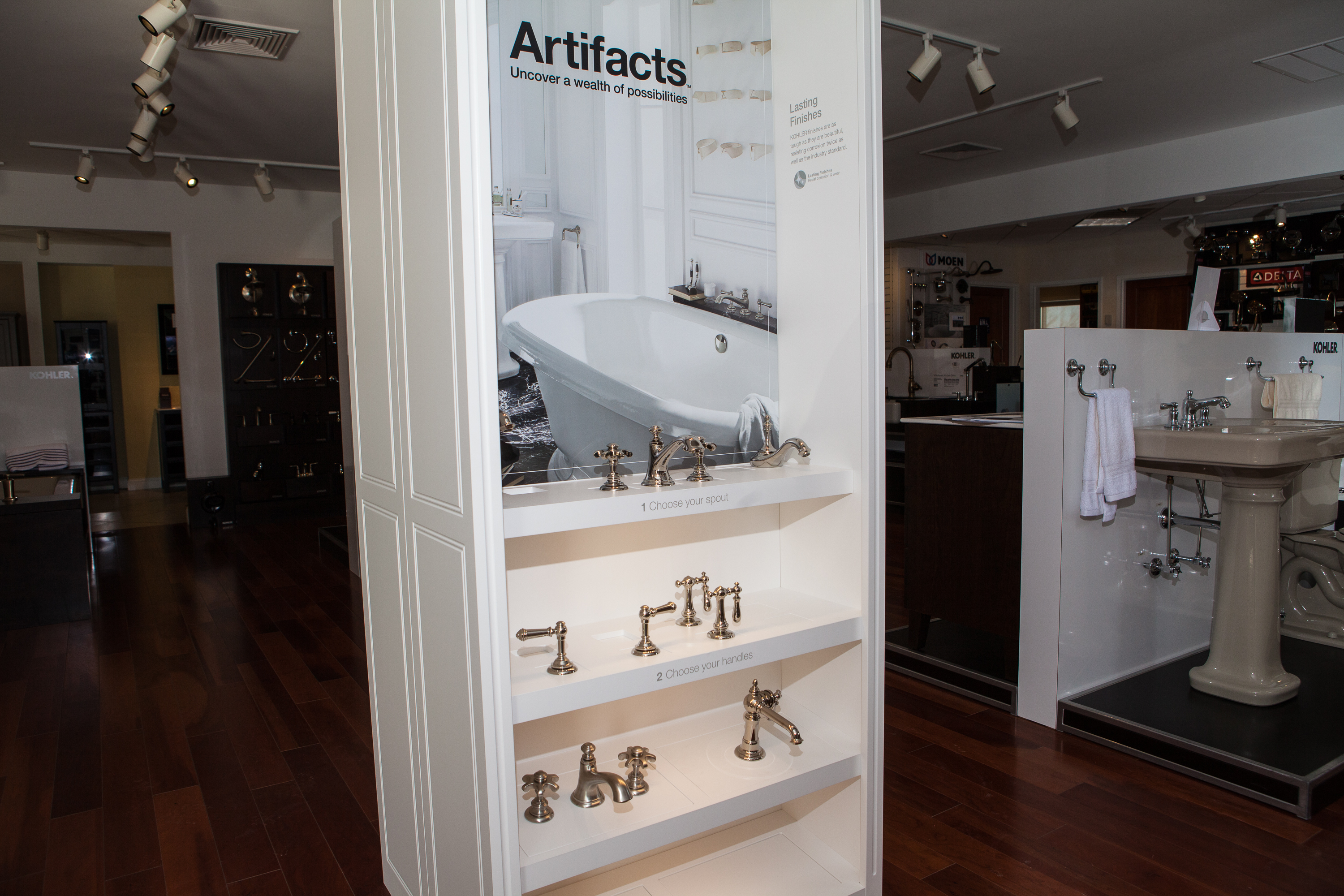 Kohler Artifacts Series | Weinstein Bath & Kitchen Showroom