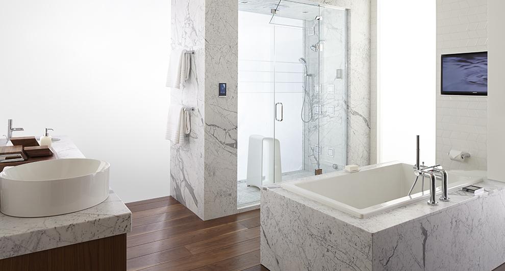 Photo of bathroom with minimalist design | Minimalist Style Bathroom | Weinstein Collegeville