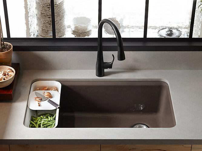 Under-mount sink in kitchen | types of kitchen sinks | Weinstein Collegeville