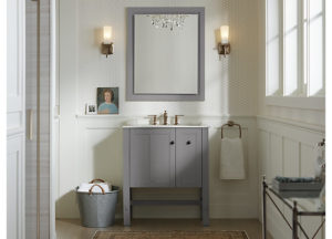 Create a bathroom cabinet that matches your styling space and the overall bathroom! Kohler features a variety of options that make it possible to fully ...