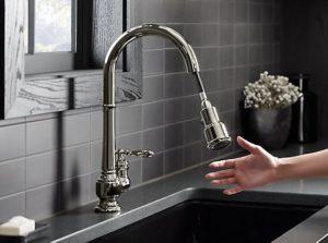 kitchen faucet, dock system