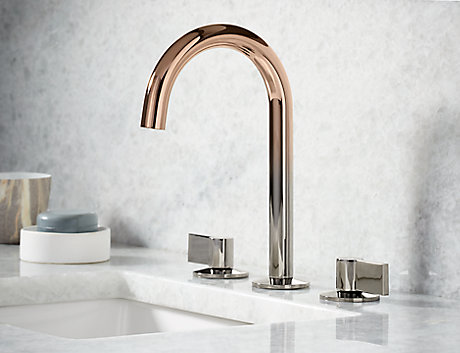 Brilliant Kohler faucet finishes