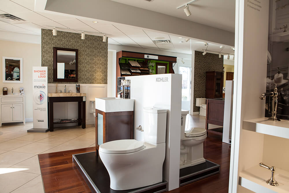 bathroom supply showroom - Kohler - Weinstein Supply