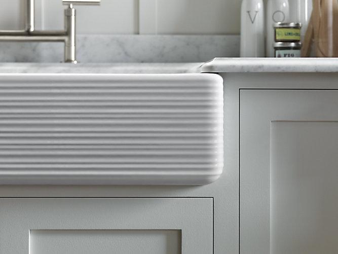 Kohler self trimming sinks - kitchen sinks - Weinstein Bath & Kitchen