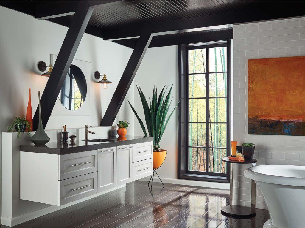 Contemporary bathroom style | Bertch Vanities | Weinstein Collegeville