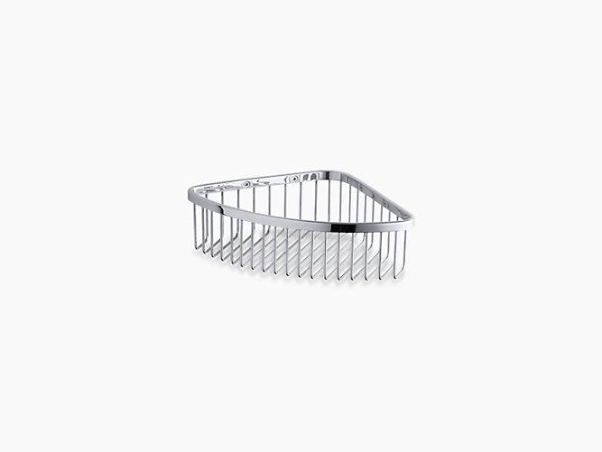 Kohler shower basket, small storage ideas for bathroom, Weinstein