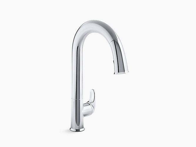 Kohler Sensate touchless faucet in polished chrome finish | touchless faucet | Weinstein Collegeville